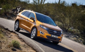 Ford Edge: SUV mit aktiver Geräuscheliminierung © spothits/ Ford Edge./Foto: Ford