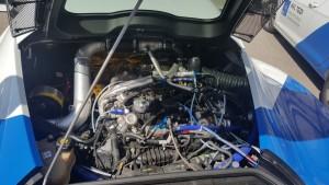 Motorensymposium 2016: Wiener Melange. © spothits/Studie auf Basis des Alfa Romeo 4C mit Biturbo-Abgasturbo und elektrischer Aufladung./Foto: Jens Meiners