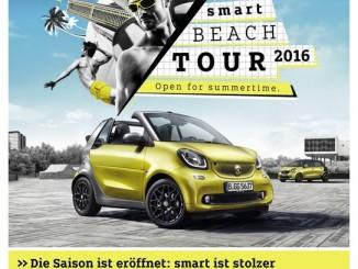 Smart startet Sommer-Events. © spothits/Smart Urban Games./Foto: Daimler