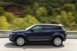 Kurztest Range Rover Evoque: Gewichtige Erscheinung. © spothits/Range Rover Evoque./Foto: Land Rover