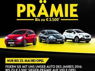"""Bis zu 3500 Euro Kaufprämie bei Opel. © spothits/""""Sieger""""-Prämie bei Opel./Foto: Opel"""