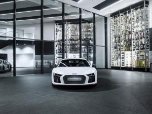 "300 Siege verpflichten: Sonderserie des Audi R8 LMS. © spothits/Audi R8 Coupé V10 plus ""selection 24h""./Foto: Hersteller"