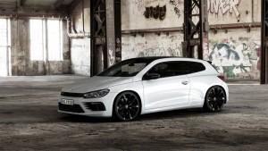 "Volkswagen bringt Designpaket für Scirocco R. © spothits/Volkswagen Scirocco R ""Black Style""./Foto: Volkswagen"