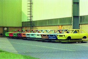 Ford Fiesta feiert 40. Geburtstag. © spothits/Foto: Ford
