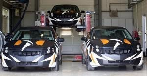 """Minister droht Tesla mit türkischem Elektro-Saab. © spothits/""""Schwedisches"""" Elektroauto aus der Türkei: Prototypen Saab 9-3 Elektro./Foto: NEVS"""