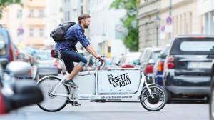 Lastenräder könnten mehr Transporte übernehmen. © spothits/Lastenfahrrad./Foto: Amac Garbe/DLR