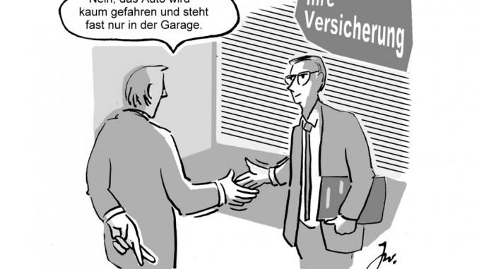 Falsche Angaben bei der Kfz-Versicherung können teuer werden. © spothits/Goslar Institut