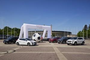 Roadshow: Kicken im Kia. © spothits/Kia-Roadshow mit Autoball./Foto: Kia