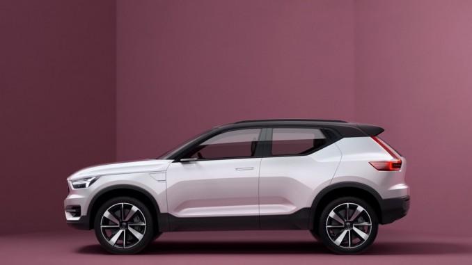 Volvo enthüllt Konzeptfahrzeuge 40.1 und 40.2. © spothits/Volvo Concept 40.1./Foto: Volvo