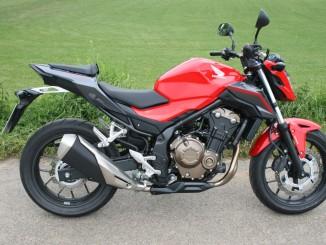 Kurzpräsentation Honda CB 500 F: B & B. © spothits/Auto-Medienportal.Net