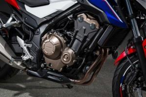 Kurzpräsentation Honda CB 500 F: B & B. © spothits/Honda CB 500 F./Foto: Auto-Medienportal.Net