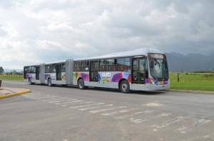 Volvo liefert 80 Doppelgelenkbusse für Quito. © spothits/Foto: Hersteller