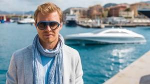 Rosberg und Lewis gingen in Monaco aufs Wasser. © spothits/Daimler