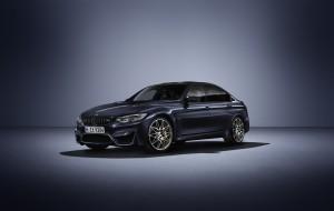 BMW feiert 30 Jahre M3 mit limitierter Sonderedition. © spothits/Hersteller