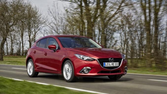 Mazda3 fünffacher Millionär. © spothits/Mazda