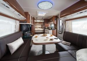 Fendt Brillant 2017: Luxus-Caravan der Extraklasse. © spothits/Fendt