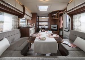 Fendt Opal 2017: Mehr Ausstattung für Oberklasse-Caravan. © spothits/Fendt