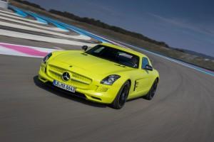 Silvretta-E-Auto-Rallye: Mercedes-Benz stellt die größte Flotte. © spothits/Auto-Medienportal.Net/Daimler