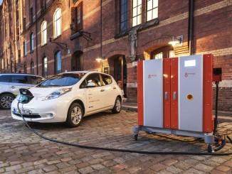 Nissan beteiligt sich an EU-Projekt Fast-E. © spothits/Auto-Medienportal.Net/Nissan