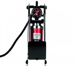 Ausprobiert: Heyner Pedal Power Pro – robuste Luftpumpe. © spothits/Auto-Medienportal.Net