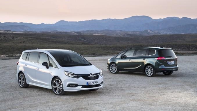 Im nächsten Opel Zafira ersetzt ein Touchscreen Knöpfe. © spothits/Hersteller