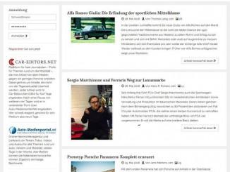 Car-Editors.Net: Neustart für mehr Nähe zur Praxis. © spothits/Car-Editors.Net