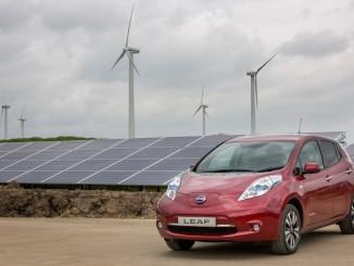 Grüne Energie für Leaf-Produktion. © spothits/Nissan