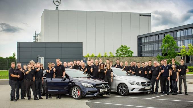 Produktionsanlauf für den modellgepflegten CLA. © spothits/Daimler