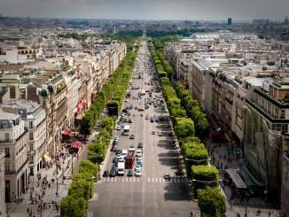 Fahrverbote in Paris: No Champs-Elysée. © spothits/Wikipedia
