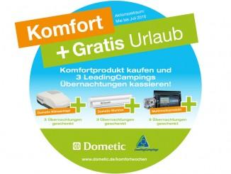 Dometic spendiert Campingübernachtungen. © spothits/Auto-Medienportal.Net/Dometic