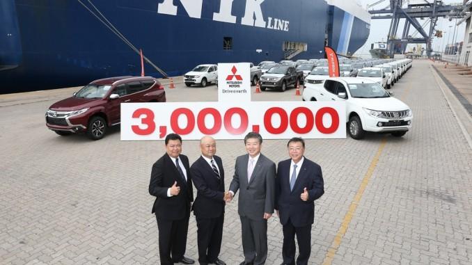 Mitsubishi verschickt drei Millionen Fahrzeuge aus Thailand. © spothits/Mitsubishi