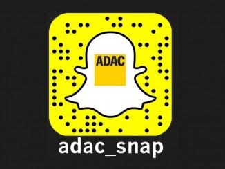 ADAC startet auf Snapchat. © spothits/ADAC