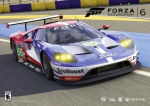 Ford GT Race für die X-Box. © spothits/Ford