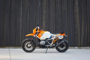 "BMW interpretiert die R Nine T als ""Dakar"". © spothits/BMW"