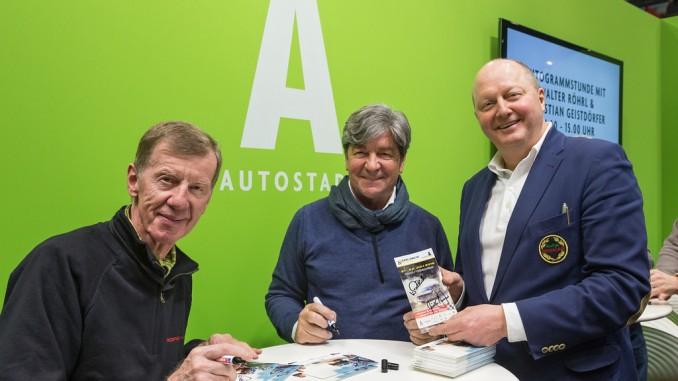 Classic Days: Autostadt präsentiert Walter Röhrl. © spothits/Autostadt