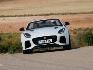 Jaguar F-Type SVR: Noch eine Schippe drauf. © spothits/Jaguar