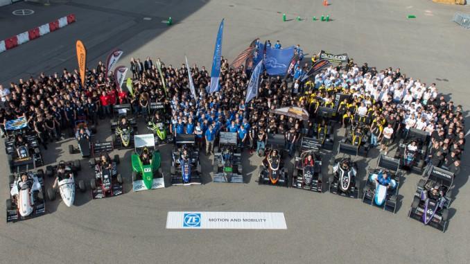 22 Team bereiten sich bei ZF auf die Formula Student vor. © spothits/ZF
