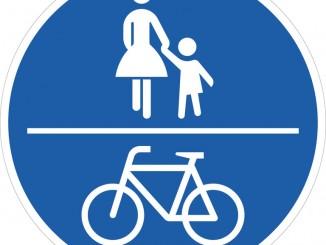 Ratgeber: Die richtige Benutzung von Geh- und Radweg. © spothits/ADAC