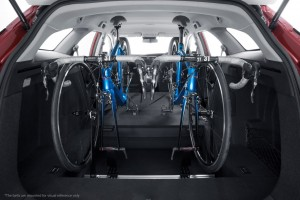 Innenraum-Fahrradträger für den Honda Civic Tourer. © spothits/Honda