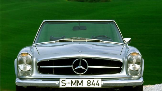 Mercedes-Benz tritt bei der Silvretta mit fünf Fahrzeugen an. © spothits/Hersteller