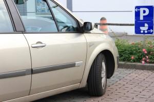 Auch Verwandte dürfen Mutter-Kind-Parkplatz ansteuern. © spothits/Meliha Sarper (ACE)
