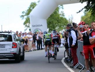 Skoda begleitet die Deutsche Radmeisterschaft. © spothits/Skoda