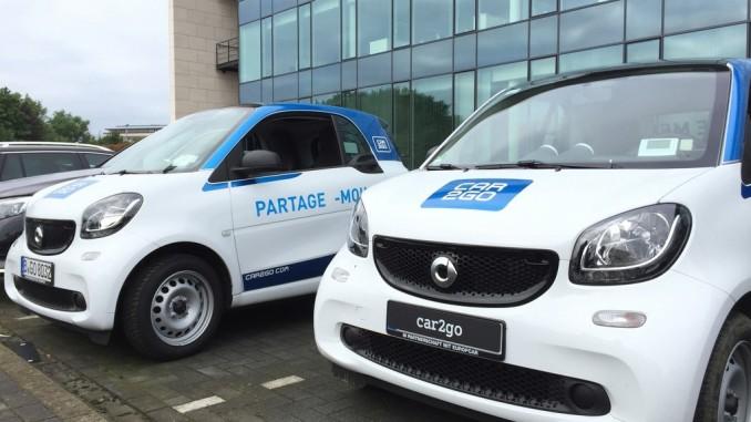 Car2go kommt nach Brüssel. © spothits/Daimler