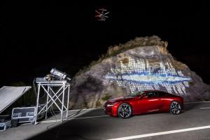 Lexus-Kurzfilm mit besonderer Projektionstechnik. © spothits/Lexus