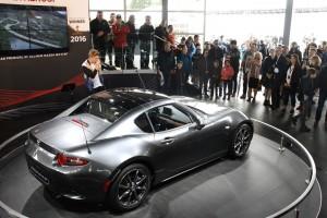 Der MX-5 wird 2017 auch zum Targa. © spothits/Axel F. Busse