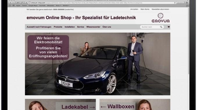 Emovum launcht Onlineangebot für Ladetechnik und E-Mobility-Wissenscenter. © spothits/Emovum