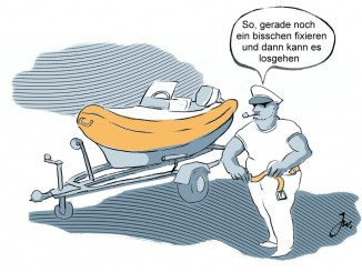 Ratgeber: Mit dem Boot auf der Straße unterwegs. © spothits/Goslar Institut