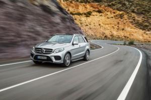 Test Mercedes-Benz GLE. © spothits/Daimler