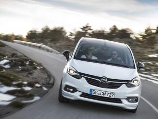 Opel Zafira: Frisch und selbstbewusst. © spothits/Hersteller