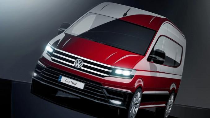 Neuer VW Crafter kommt im Herbst. © spothits/Volkswagen